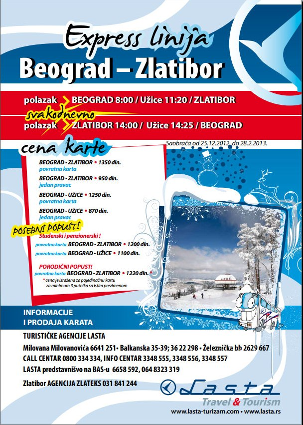 Beograd - Zlatibor