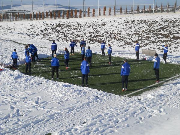 ŽFK Spartak - pripreme na Zlatiboru januar 2013