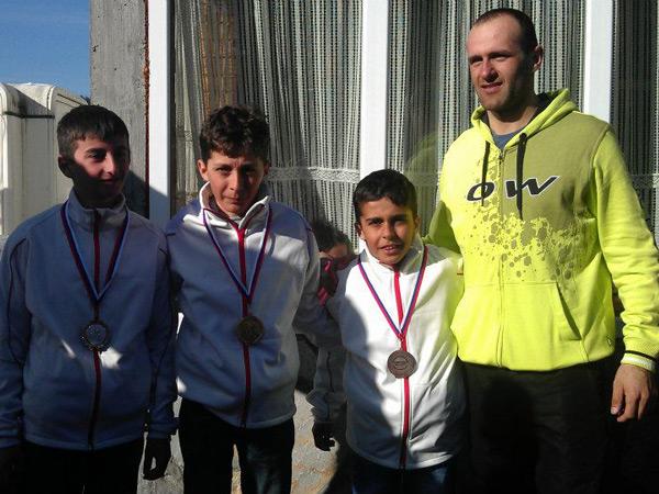 Sve tri medalje za SK Zvezda