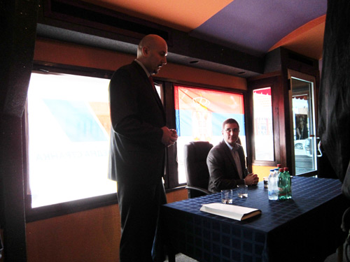 Dr Aleksandar Jeremić govori o radu OO SNSa