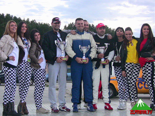 Pobednički klubovi MM Power, Užice Rally Team i Gina Auto Sport