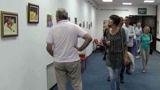 Otvorena izložba slika Mire Fuštić u galeriji Čigota