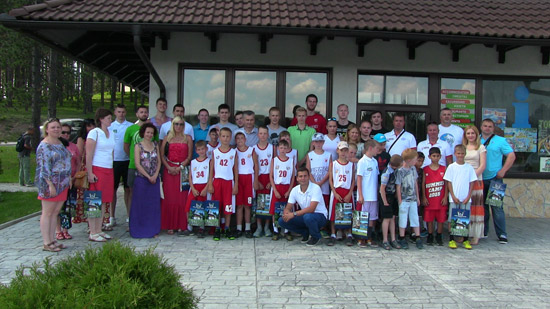 Mladi košarkaši iz Rusije na Zlatiboru