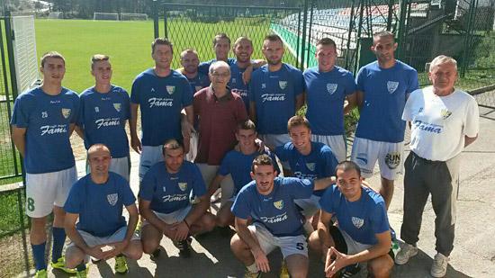 Šekularac i Đurovski na treningu FK Zlatibora