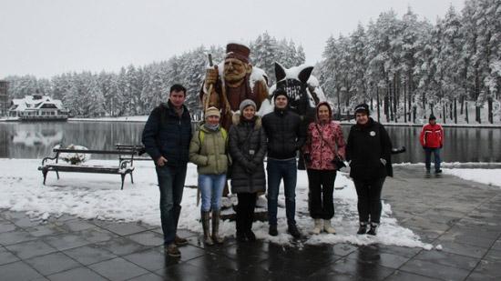 Ruski novinari na Zlatiboru