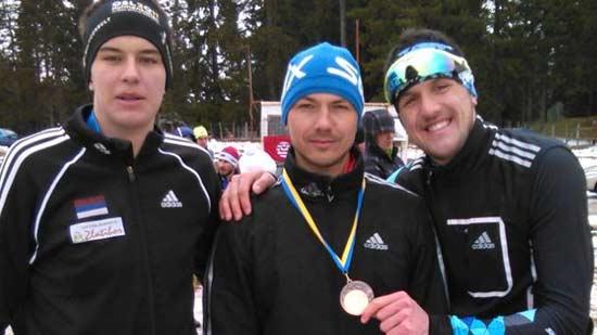 Dejan Krsmanović treći na FIS trci