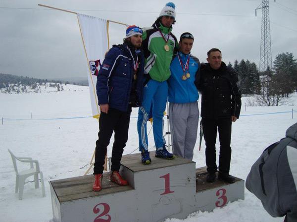 Sanjin Dizdarević - srebro u seniorskoj konkurenciji