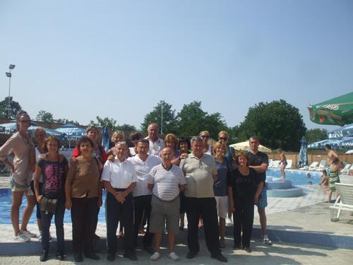 Zlatiborci na bazenima u Končarevu