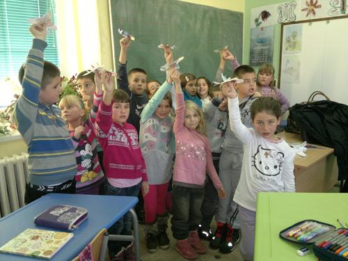 Učenici 1 i 2 razreda OŠ Milivoje Borović