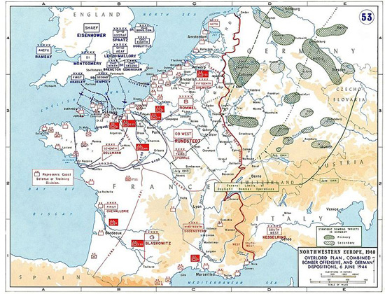 normandija-raspored