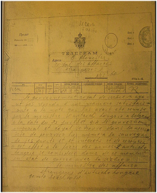 Telegram - objave rata