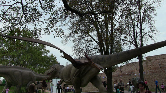 Dinosaurus - ilustracija