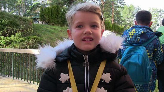Lidija Bajčetić - najmlađa takmičarka