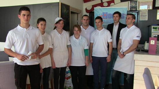 Polaznici obuke za kuvare