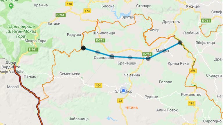 Autoputem Do Sarajeva Preko Mackata Vila As
